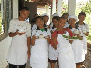 Koken met toeristen